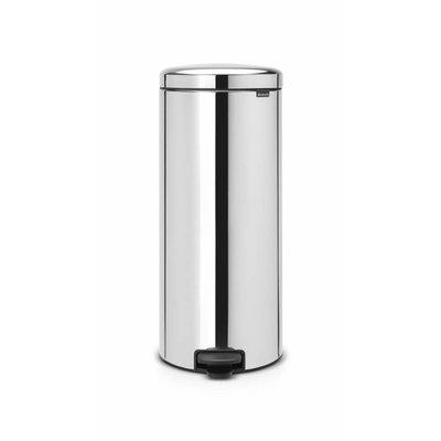 Brabantia Newicon pedaalemmer - 30 liter - brillant steel