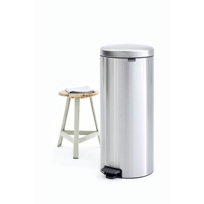 Brabantia Newicon pedaalemmer - 30 liter - matt steel