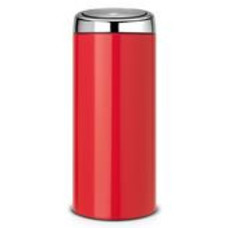 Brabantia Touch Bin - afvalverzamelaar - 30 liter - passion red