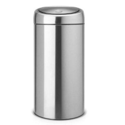 Brabantia Touch Bin - afvalverzamelaar - 2x20 liter - matt steel FP