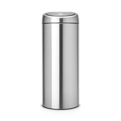 Brabantia Touch Bin - afvalverzamelaar - 30 liter - matt steel