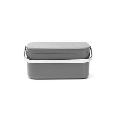 Aanrecht afvalbakje 1,8L - donker grijs