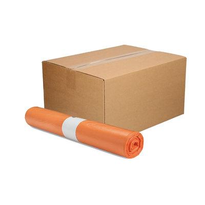 Afvalzak 70x110cm - 1 doos - oranje