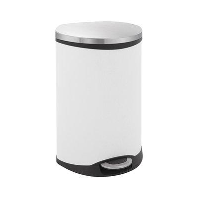 Eko Shell Step Bin - 2x22 liter - Wit