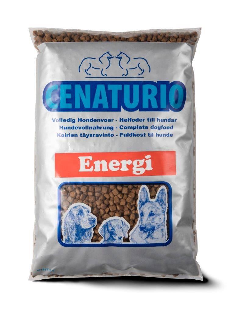 Cenaturio Energi -Voer voor de zeer actieve hond-