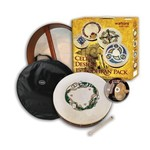 """Waltons 15"""" Chase Bodhran With Beater DVD Tutor & Case"""
