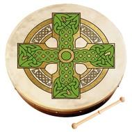 "Waltons 12"" Cloghan Cross Bodhran"