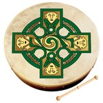 "Waltons 12"" Gallen Cross Bodhran"