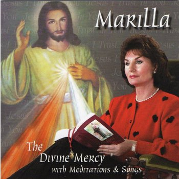 MARILLA NESS - THE DIVINE MERCY with MEDITATIONS & SONGS (CD)