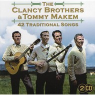 THE CLANCY BROTHERS AND TOMMY MAKEM - 42 TRADITIONAL SONGS (2 CD)