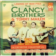 THE CLANCY BROTHERS AND TOMMY MAKEM - THE DEFINITIVE COLLECTION VOL.1 (CD)