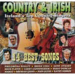 COUNTRY AND IRISH - IRELANDS TOP COUNTRY SINGERS (CD).