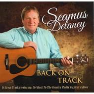 SEAMUS DELANEY - BACK ON TRACK (CD)...