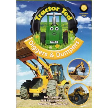 TRACTOR TED - DIGGERS AND DUMPERS (DVD)