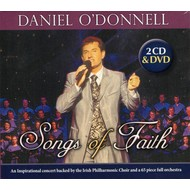 DANIEL O'DONNELL - SONGS OF FAITH (CD / DVD)...