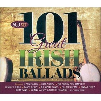 101 GREAT IRISH BALLADS - VARIOUS ARTISTS (CD)