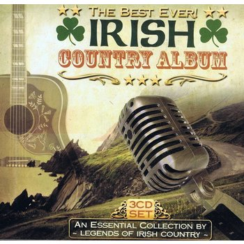 THE BEST EVER IRISH COUNTRY ALBUM - BRENDAN QUINN, BRIAN COLL, FRANKIE MCBRIDE (CD)