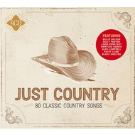 JUST COUNTRY - VARIOUS ARTISTS (4 CD Set)