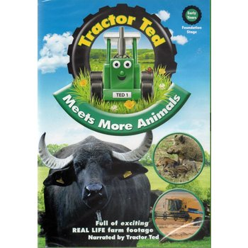 TRACTOR TED - MEETS MORE ANIMALS (DVD)