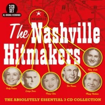THE NASHVILLE HITMAKERS - VARIOUS ARTISTS (3 CD Set)
