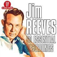 JIM REEVES - 60 ESSENTIAL RECORDINGS (3 CD Set)