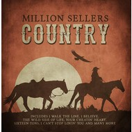 MILLION SELLERS COUNTRY - VARIOUS ARTISTS (CD)