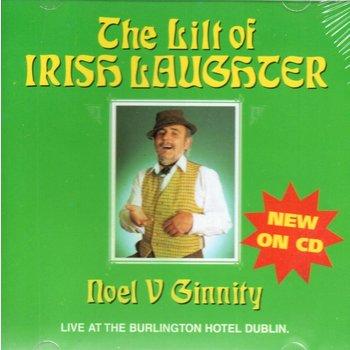 NOEL V GINNITY - THE LILT OF IRISH LAUGHTER (CD)