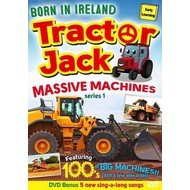 TRACTOR JACK MASSIVE MACHINES SERIES 1 (DVD)