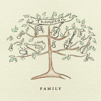 THOMPSON - FAMILY (CD/DVD)