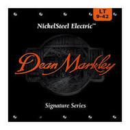 DEAN MARKLEY - ELECTRIC  NICKEL STEEL GUITAR STRINGS LT 9-42