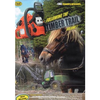FOLLOWING THE TIMBER TRAIL  VOL. 1 (DVD)