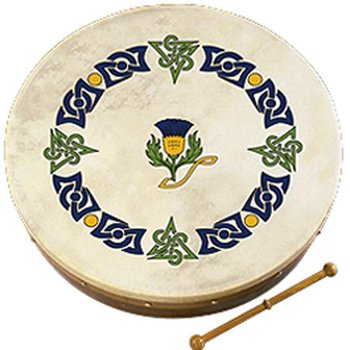 "12"" SCOTTISH THISTLE - BODHRAN"