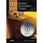 110 BUTTON ACCORDION TUNES BOOK (with CD)...