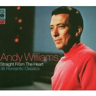 ANDY WILLIAMS  - STRAIGHT FROM THE HEART (CD)...