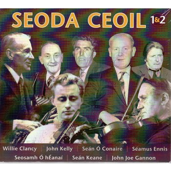 SEODA CEOIL 1 + 2 - VARIOUS ARTISTS (2 CD SET)