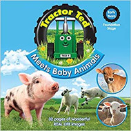 TRACTOR TED - MEETS BABY ANIMALS BOOK