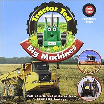 TRACTOR TED - BIG MICHINES BOOK