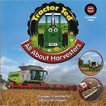 TRACTOR TED - ALL ABOUT HARVESTERS BOOK