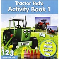 TRACTOR TED'S - ACTIVITY BOOK 1