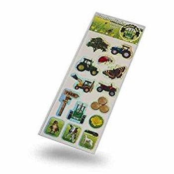 TRACTOR TED - FARM STICKERS