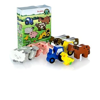 TRACTOR TED - WOODEN FARM TOYS