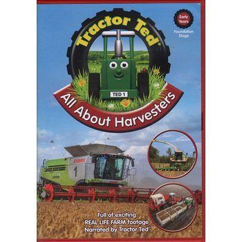 TRACTOR TED - ALL ABOUT HARVESTERS (DVD)