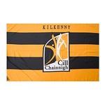 OFFICIAL GAA CREST COUNTY FLAG - KILKENNY