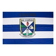 OFFICIAL GAA CREST COUNTY FLAG - CAVAN