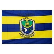 OFFICIAL GAA CREST COUNTY FLAG - ROSCOMMON