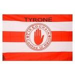 OFFICIAL GAA CREST COUNTY FLAG - TYRONE