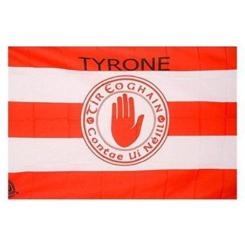 OFFICIAL GAA CREST COUNTY FLAG - TYRONE