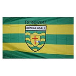 OFFICIAL GAA CREST COUNTY FLAG - DONEGAL