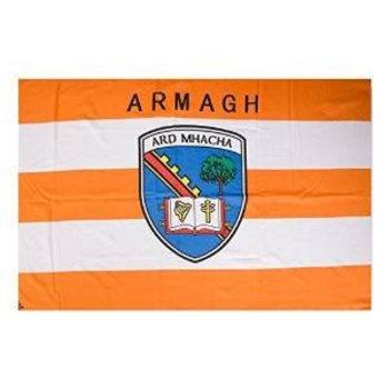 OFFICIAL GAA CREST COUNTY FLAG - ARMAGH
