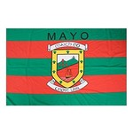OFFICIAL GAA CREST COUNTY FLAG - MAYO